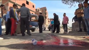 Drive-by shooting kills four police near Cairo