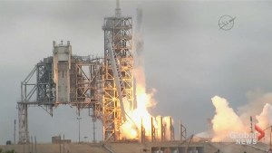SpaceX rocket blasts off from historic NASA launch pad