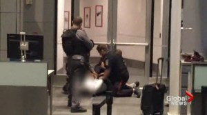 Man tasered by police at Pearson Airport entered restricted area