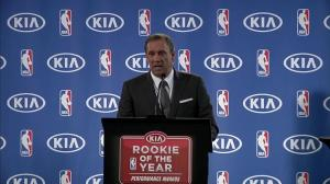 Minnesota Timberwolves head coach praises Andrew Wiggins following Rookie of the Year win