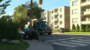 3-year-old boy in critical condition following collision in North Toronto
