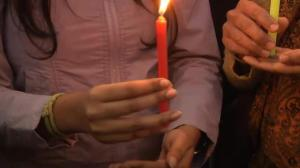Candlelight vigil held in India in honor of children killed in Pakistan attack
