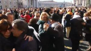 Pope Francis celebrates birthday with tango dance party