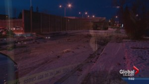 A woman is fighting for her life in Hospital after a fatal crash on Crowchild.