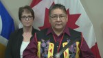 Shoal Lake 40 Chief Erwin Redsky speaks about Freedom Road