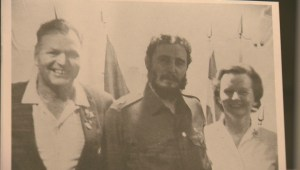 Family photo with Castro prompted threats