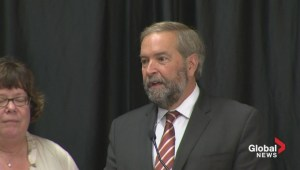 Mulcair slams Feds for proposed health care cuts