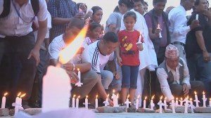 RAW: Hundreds gather in Kathmandu to mark 1 month since deadly quake