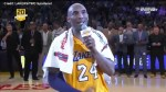 Kobe Bryant bids farewell to the NBA in his final game
