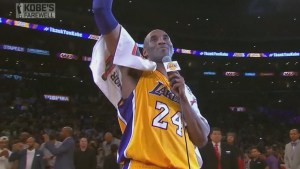 Kobe Bryant scores 60 in final NBA game