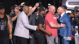 Floyd Mayweather, Conor McGregor Toronto World Tour appearance