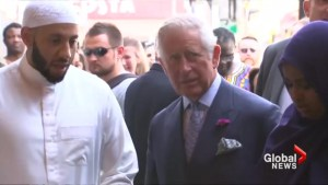 Prince Charles visits site of Finsbury Park mosque attack