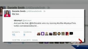 Backlash after Tim Horton's pulls Enbridge ads