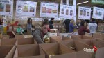 Toronto food bank struggling with donations