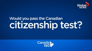 Would you pass the Canadian citizenship test?