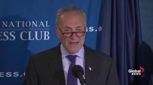 Chuck Schumer has difficulty in seeing common ground with Trump