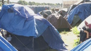 Controversial order to remove tent city