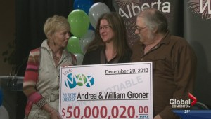 Edmonton's big $50M winners