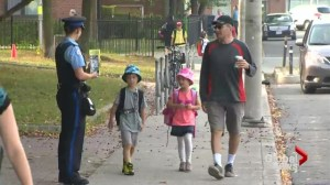 As summer ends, Toronto children start first day of school