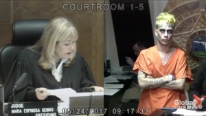 Man resembling the Joker appears in Miami-Dade court