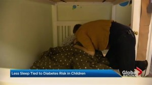 Kids' sleep habits could be linked to diabetes
