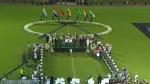 Memorial held for Brazilian soccer team at Arena Conda stadium in Brazil