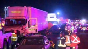 Crash on highway 401 claims three lives and injures over a dozen others