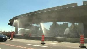 Bonaventure Expressway demolition continues