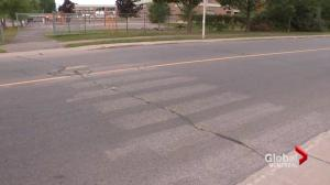 Westpark Elementary to get crosswalk back