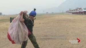SkyHawks bring their military parachute demonstration to Penticton