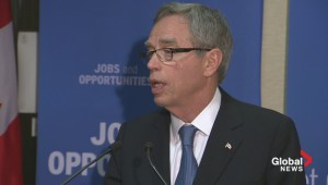 Joe Oliver confident Tim Hortons/Burger King merger won't effect trade relations with US