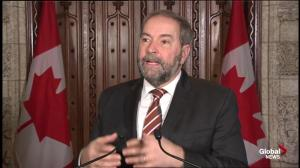 Mulcair happy that Harper and Wynne will finally meet