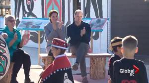 The Duke and Duchess visit the Yukon