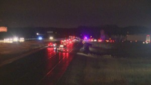 Fatal collision closes Hwy 400 north of Toronto