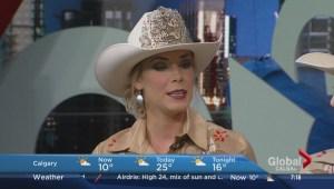 Calgary Stampede princess