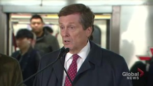 Toronto calls on Ontario to help fund TTC relief line