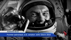 Former astronaut, US senator John Glenn dies at 95