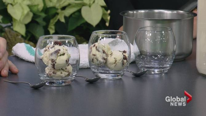 Eggnog ice cream sundaes with rum caramel sauce - BC | Globalnews.ca