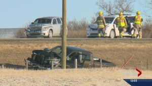 One person dead, two injured in crash near Cochrane