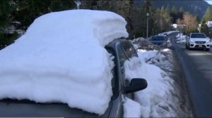 Cold snap finally coming to end on B.C.'s South Coast