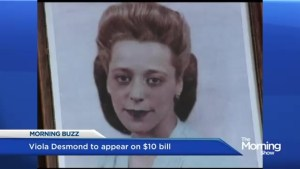 Viola Desmond to appear on $10 bill
