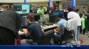 Edmonton gamers take part in 24-hour video game marathon