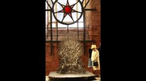 Queen Elizabeth visits 'Game of Thrones' set, doesn't sit on Iron Throne
