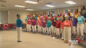 Female barbershop singers from across Atlantic Canada come together