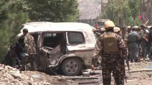 Suicide bomber targeted NATO convoy in Kabul blast
