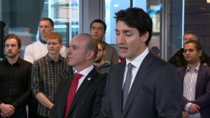 Justin Trudeau says Albertans understand the importance of protecting the enviroment