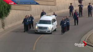 Moving images from funeral procession