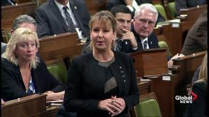 Conservative's Dianne Watts questioned Liberal's commitment towards local infrastructure