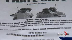 Anti-Muslim flyer turns up in second Edmonton neighbourhood