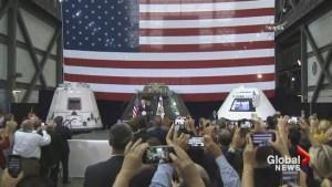Pence declares U.S. will return to moon, land on Mars